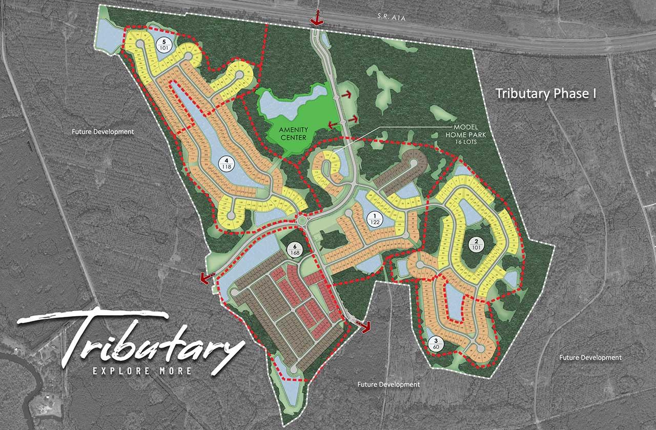 Tributary Master Siteplan