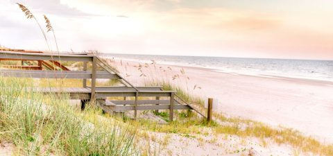 Amelia Island Beach just minutes away from Tributary